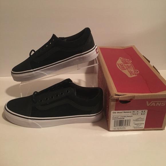 467b76500a532 Vans Old Skool Reissue Black Reflective Shoes